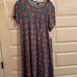 Lularoe Carly T-shirt Dress